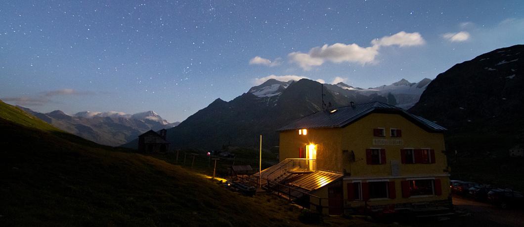 Rifugio Berni all'alba