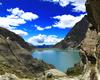 Il panorama di uno dei laghi della valle