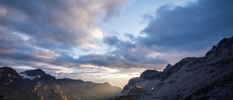 Il Rifugio Quinto Alpini in val Zebrù