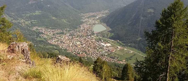 Edolo (vista dal dosso Turicla)