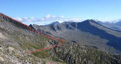 Dal rifugio Tita Secchi alla cima Listino