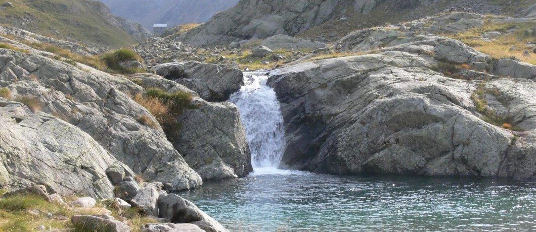 cascatelle sul fiume Serio