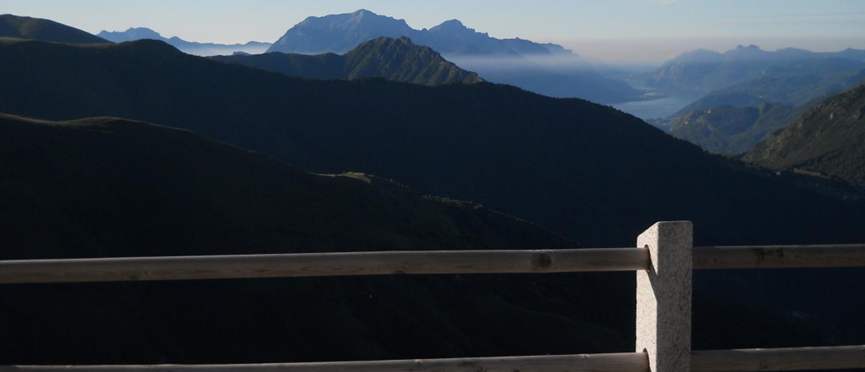 Panorama dal Rifugio sul Lago di Como