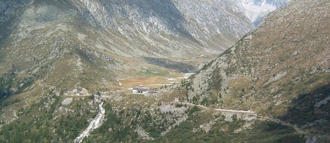 La val Adamè e il rifugio Lissone