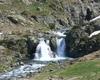 una delle numerose cascate che il Serio offre alla nostra vista nelle vicinanze del rifugio Barbellino