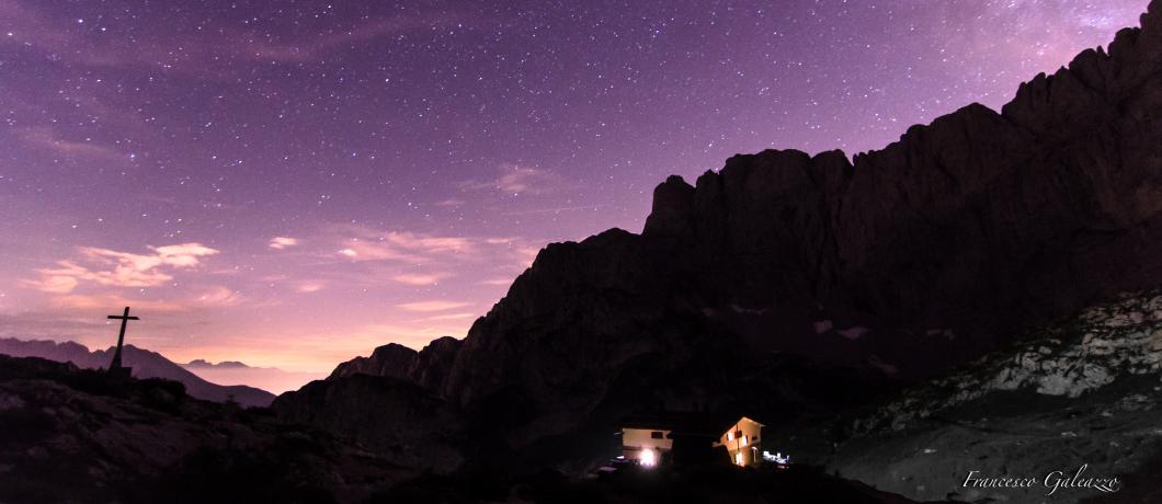 La Magia delle Stelle al Rifugio Albani