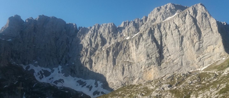 Cielo stellato al Rifugio Albani