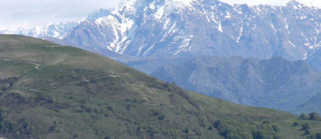 Dal sentiero che porta al Monte Palanzone