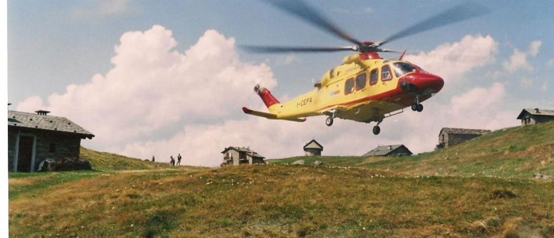 Elicottero al Prato
