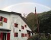 Dopo la pioggia, ecco spuntare il sole e...l'arcobaleno