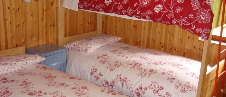 camera da letto rifugio vivione