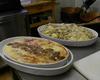 Tortino di Polenta con Funghi Porcini e crema di Taleggio gratinata al forno.