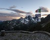 Il tramonto visto dal piazzale del rif. Brunone