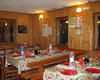 La sala è pronta per gli ospiti del cenone di S.Silvestro