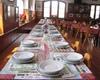 sala da pranzo del rifugio Garibaldi