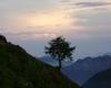 Vista verso la Valsassina appena prima del tramonto