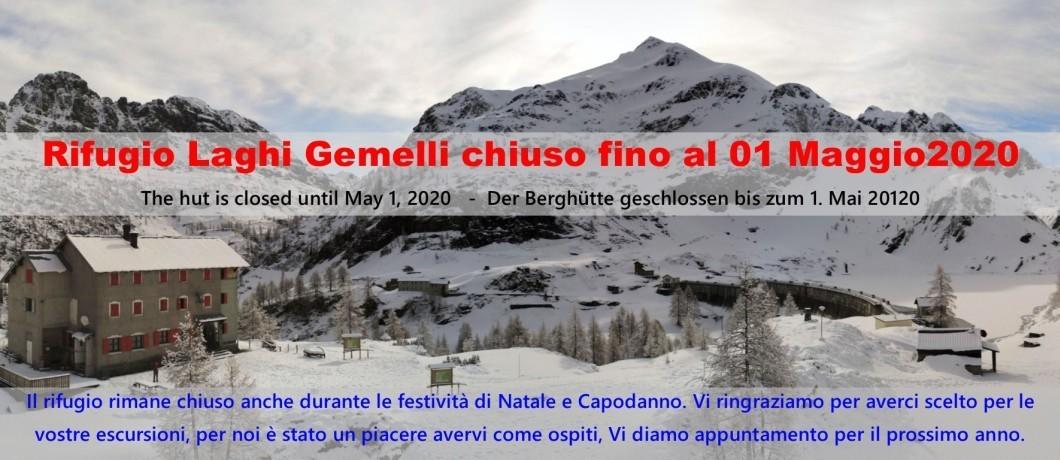 Chiusura invernale 2019-20