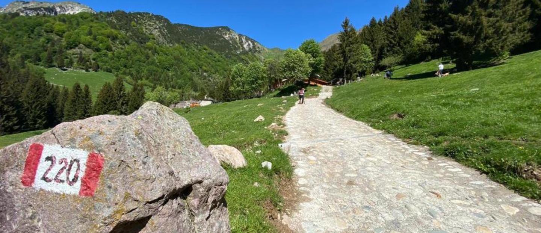 Arrivo al rifugio Alpe Corte