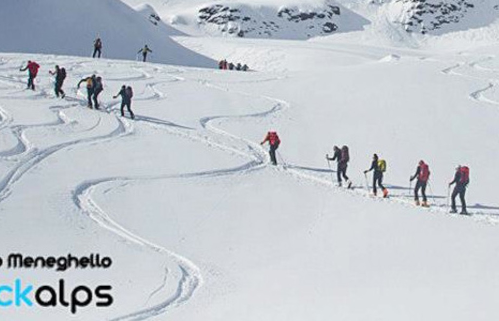 sci alpinismo Rifugio Forni