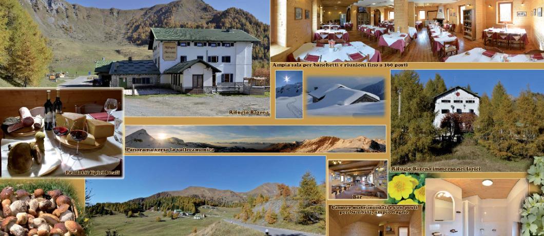 collage foto rifugio Tassara
