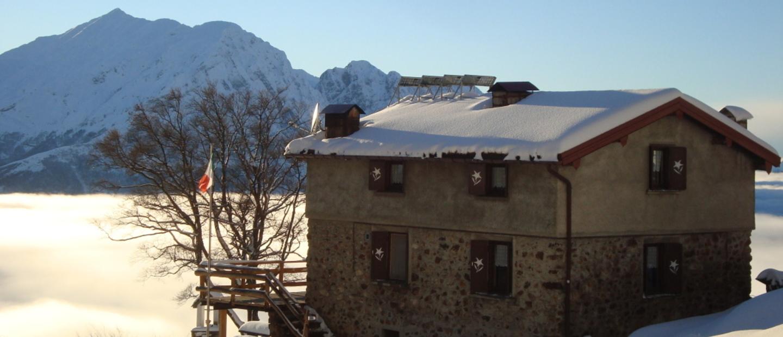 Inverno al Rifugio Buzzoni
