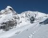 Gruppo ortles cevedale, thiuweiser gran zebrù valfurva parco nazionale dello stelvio rifugio quinto alpini V alpini V° alpini