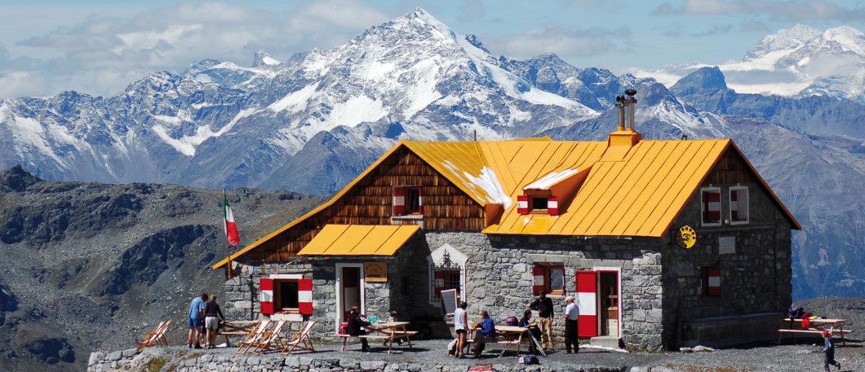 panorama dal rifugio quinto alpini bertarelli