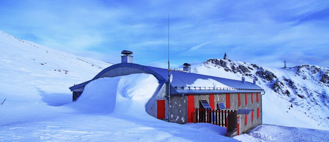 Rifugio Almici sul Monte Guglielmo (BS)