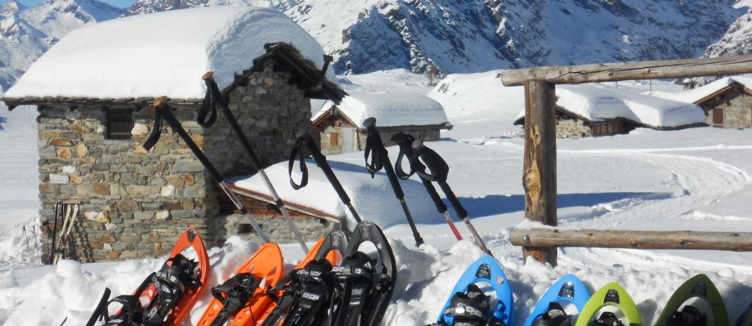 Rifugio Cristina in Valmalenco inverno