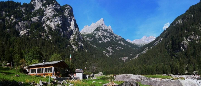 panoramica rifugio Rasega