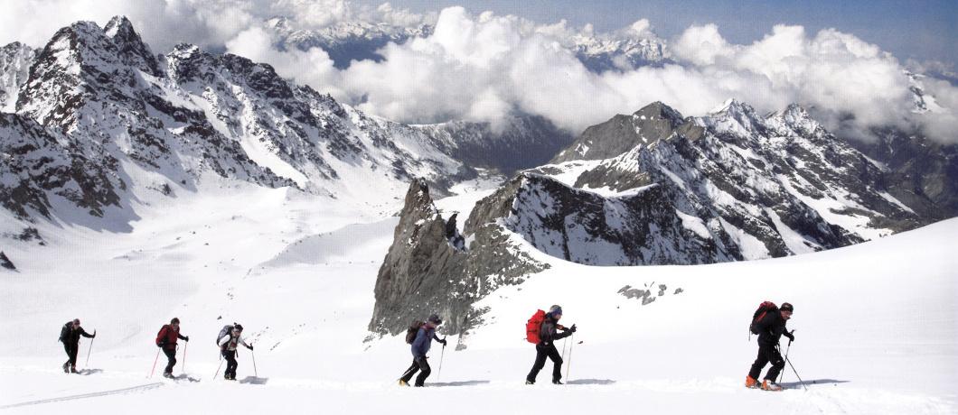 Ghiacciao di Predarossa Monte Disgrazia 3678m