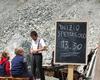Il rifugio quinto alpini in val zebrù 2877 mt parco nazionale dello stelvio parco nazionale dello stelvio in alta valtellina