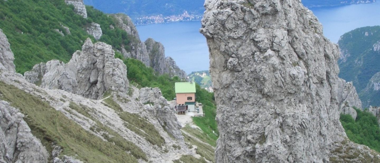 Il rifugio Rosalba