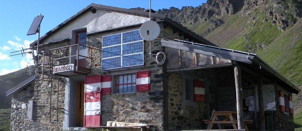 rifugio bozzi con veranda
