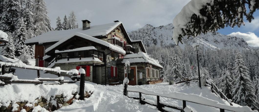 Rifugio Palu inverno 2016