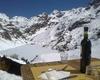 Vista dal rifugio Curò del Passo del Serio e Monte Torena