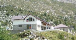 Il rifugio Lissone e la cima Lesena