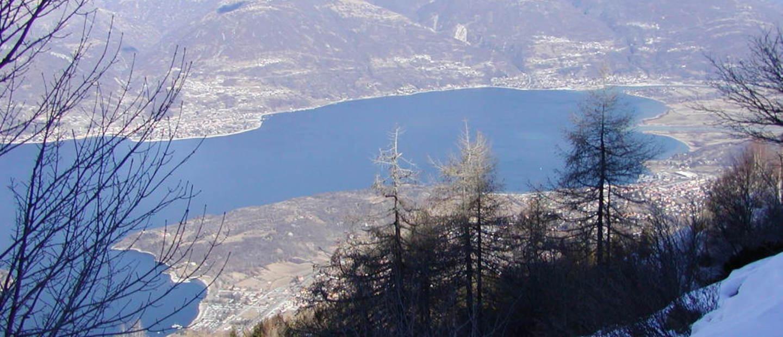 Vista dal monte Legnoncino