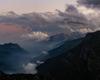 La valle di Fiumenero vista dal piazzale del rifugio Brunone
