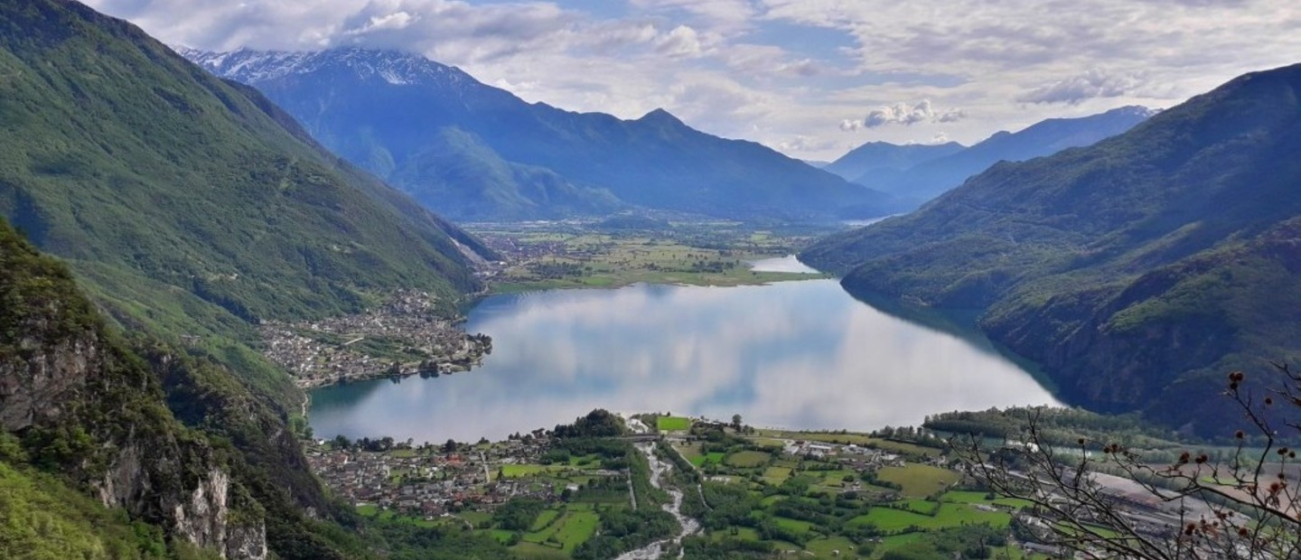 Tramonto in Val Codera