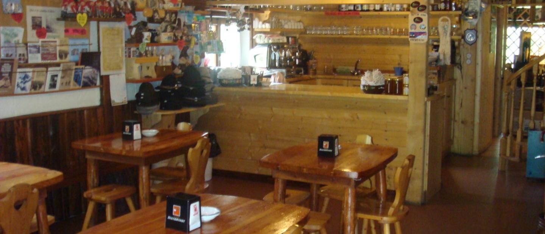 sala pranzo rifugio vivione