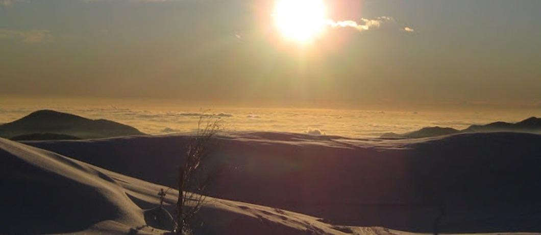 panorama dal rifugio parafulmine