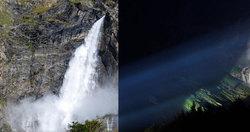 Le superbe cascate di Valbondione