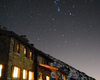 rifugio Griera la notte di capodanno