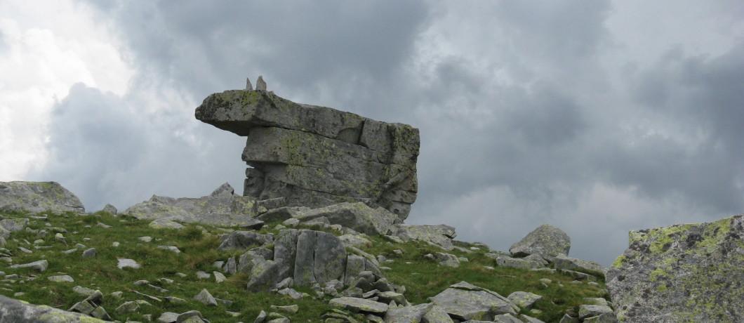 Masso a forma di Vacca