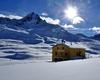 .rifugio Berni in inverno